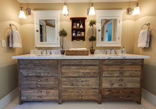 Bathroom updates like new fixtures and linens can stretch a small budget. (Photo: istockphoto.com)