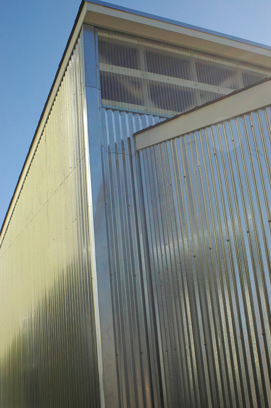 Aluminum Metal Siding : Corrugated aluminum siding networx