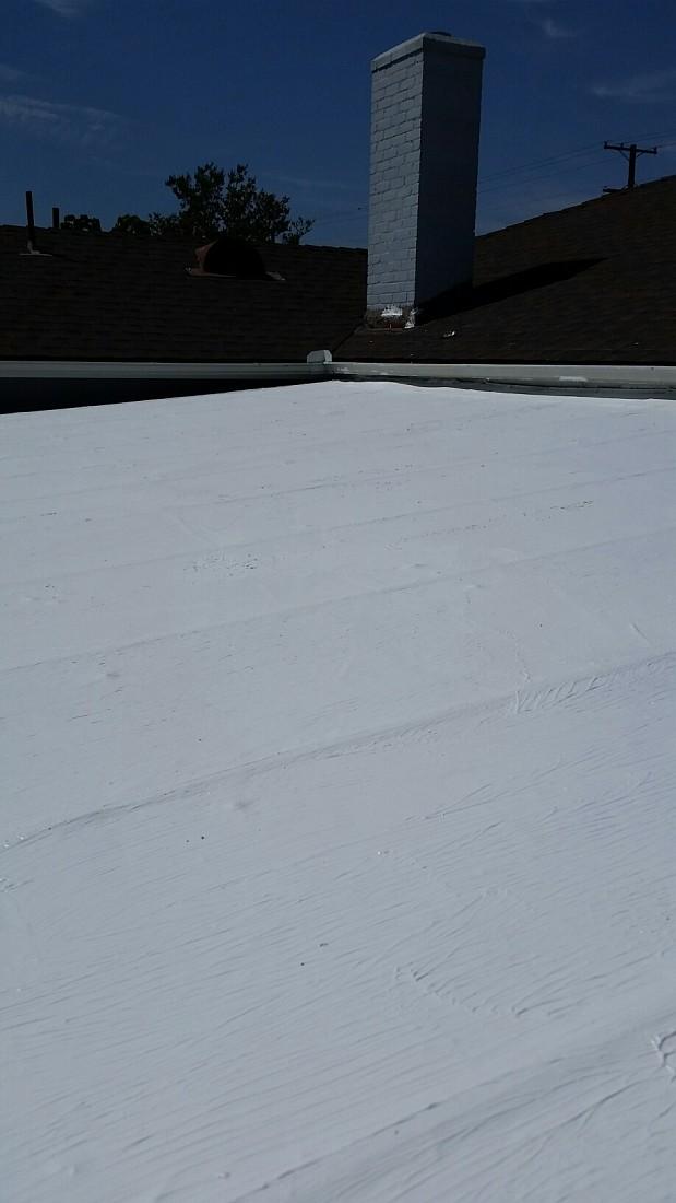 AFTER Roof repair warrantied 20 years