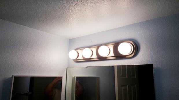 Vanity Light Fixture Replacement