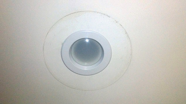 Simple new recessed light installation