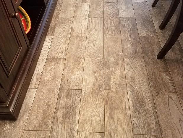 Perfect tile job