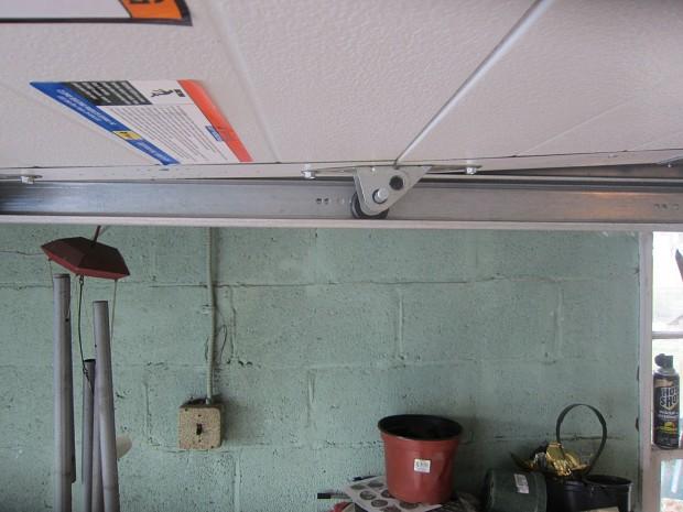 Replacement track for garage door opener