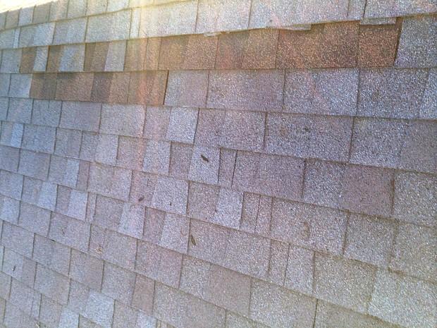 Roof repair completed