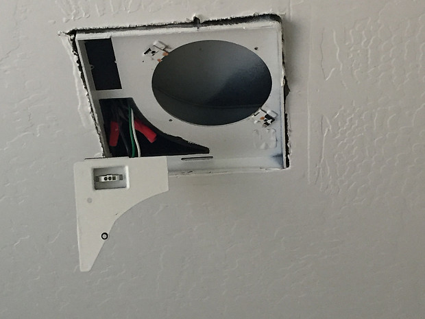 BEFORE expert vent fan installation needed!