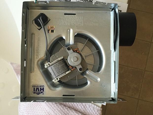 Bathroom vent fan