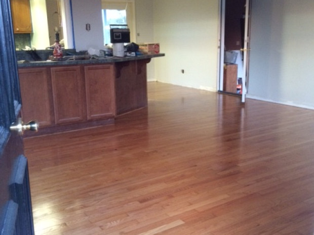 AFTER Living room floor looks great