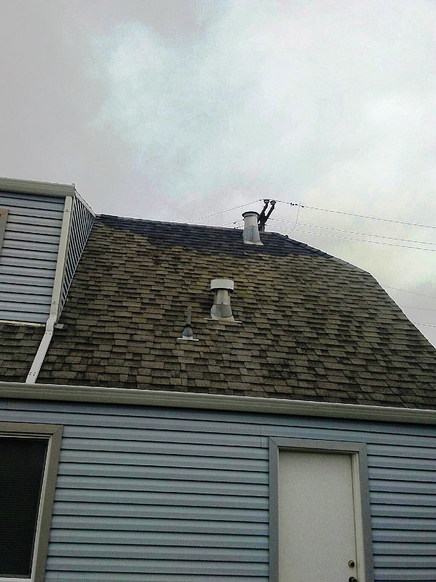 AFTER Roof ready for storms