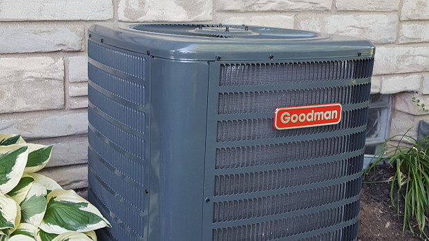 Air conditioning installation for those hot, humid days