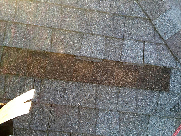 Roofing shingle replacement