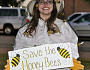 We agree: Save the honey bees! (kimberlykv/flickr creative commons)