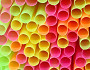 Photo of colorful plastic drinking straws by jeancliclac/istockphoto.com.