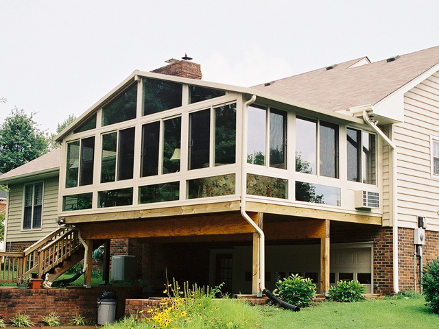 Otto 39 s exteriors networx for Second floor sunroom