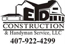 E d construction handyman service llc networx for Garage door repair in kissimmee fl