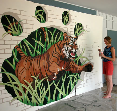 A Guide To Painting Trompe L Oeil Murals Networx