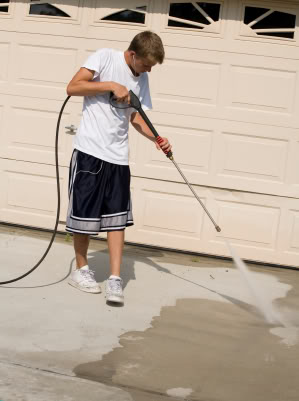 Power Washing Vs Using Chemicals On Your Driveway Networx